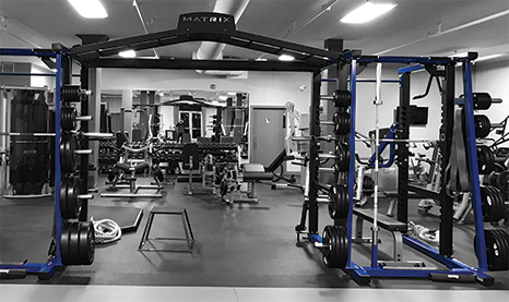 State of the art Gym Training Facility O2 Training Centre
